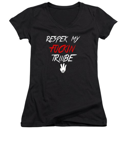 Respek Women's V-Neck (Athletic Fit)