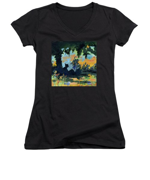 Rest A Minute Women's V-Neck