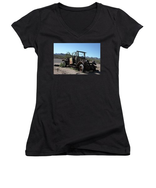 Resting And Rusting Women's V-Neck