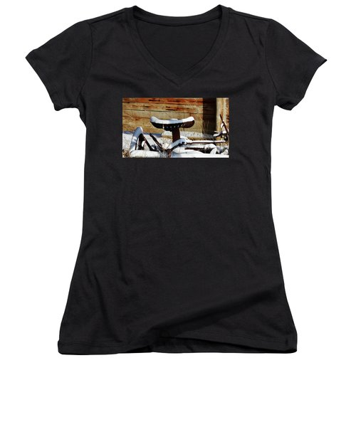 Resting Place Women's V-Neck (Athletic Fit)