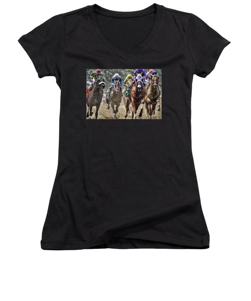 Right At You Women's V-Neck
