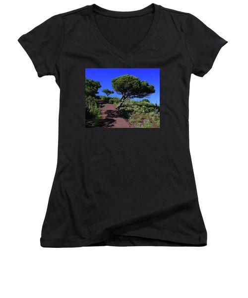 Rim Trail 1 Women's V-Neck T-Shirt