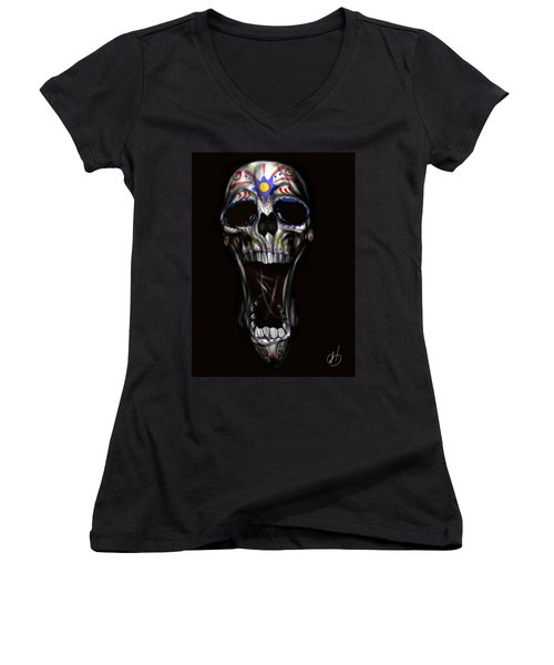 R.i.p Women's V-Neck T-Shirt