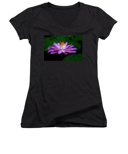 Rising Above Women's V-Neck (Athletic Fit)