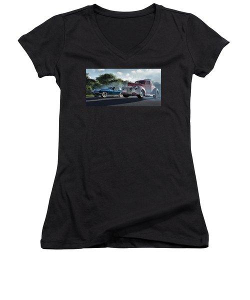 Rivals Women's V-Neck T-Shirt