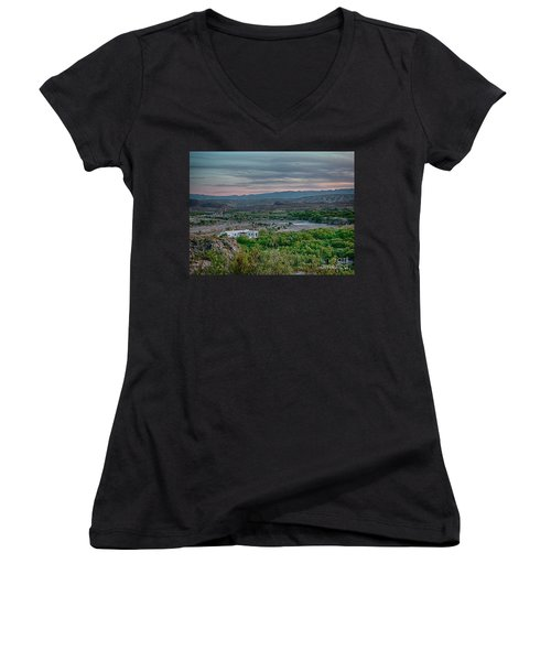 River Overlook Women's V-Neck (Athletic Fit)