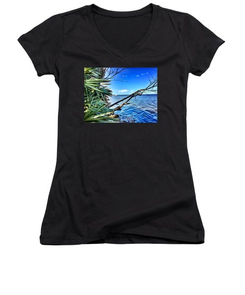 Riverside Women's V-Neck (Athletic Fit)