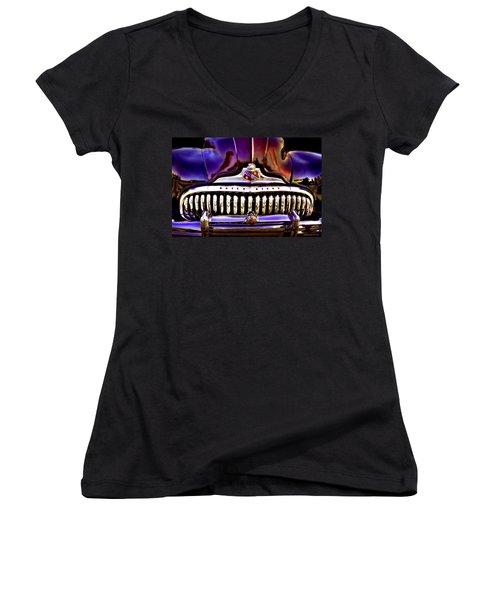 Road Master Women's V-Neck T-Shirt