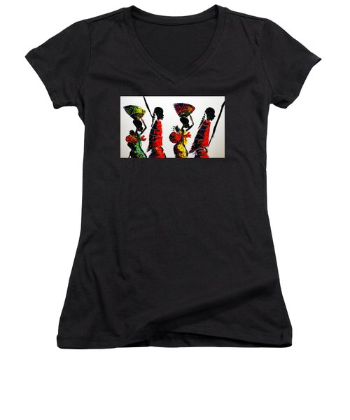 Road Trip Women's V-Neck (Athletic Fit)