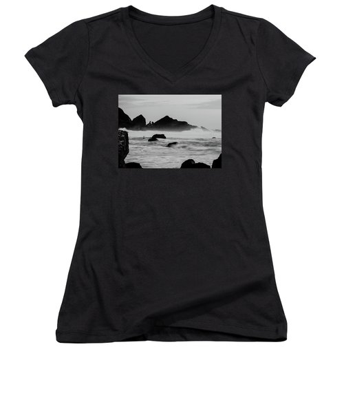 Roaring Seas Women's V-Neck (Athletic Fit)