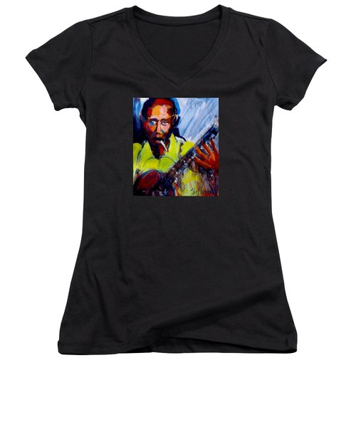 Robert Johnson Women's V-Neck T-Shirt