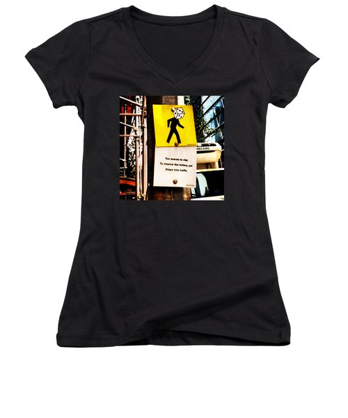 Roll Of The Dice Women's V-Neck