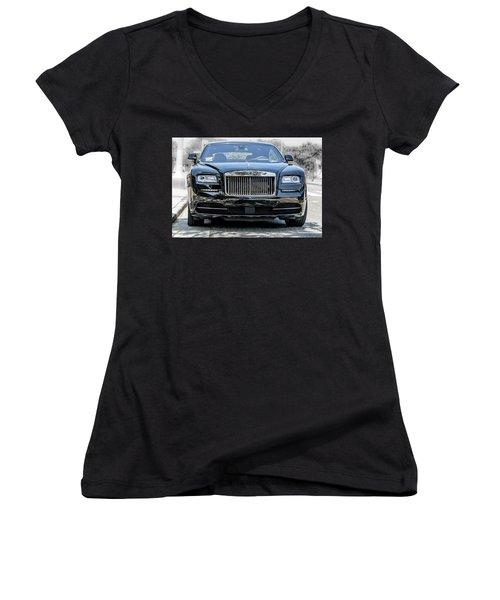 Rolls - Royce Wraith Coupe 2016 Women's V-Neck