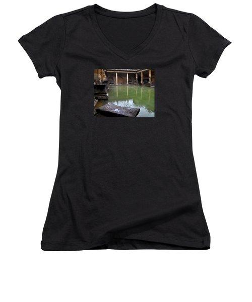 Roman Bath Women's V-Neck T-Shirt