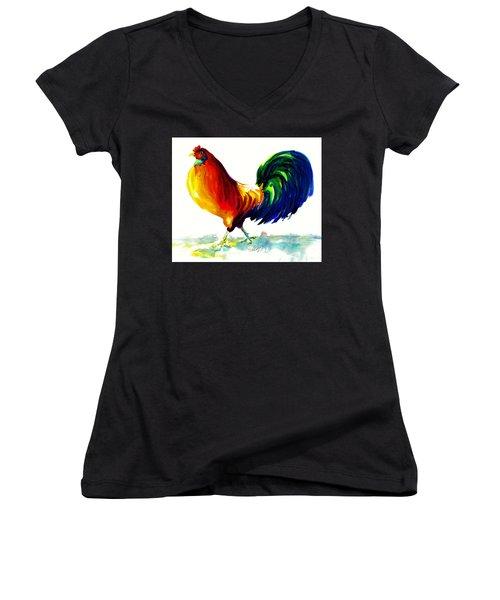 Rooster - Big Napoleon Women's V-Neck