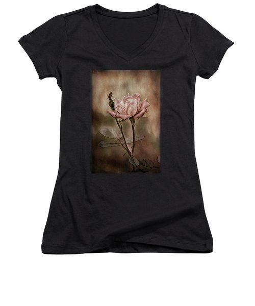 Rose 3 Women's V-Neck