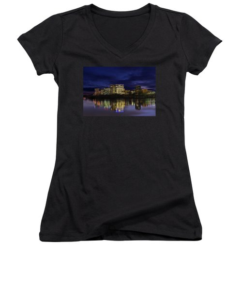 Rosslyn Skyline Women's V-Neck