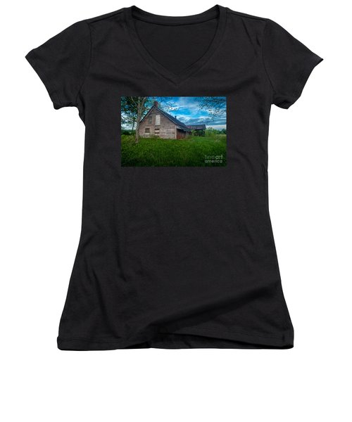 Rural Slaughterhouse Women's V-Neck