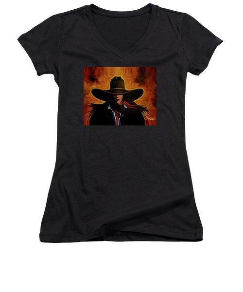 Rusty Women's V-Neck T-Shirt