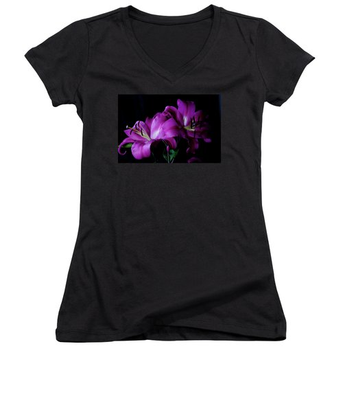 Sad But Pretty Women's V-Neck (Athletic Fit)