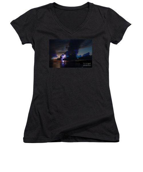 Sailors Delight Women's V-Neck T-Shirt (Junior Cut)