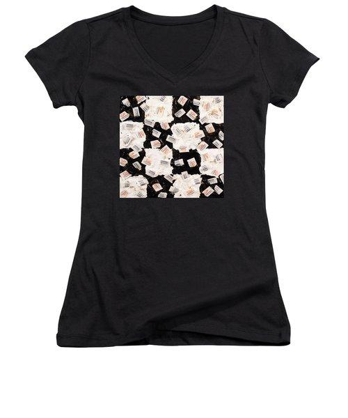 Salt And Pepper Women's V-Neck T-Shirt