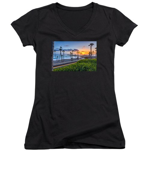 San Clemente Women's V-Neck (Athletic Fit)