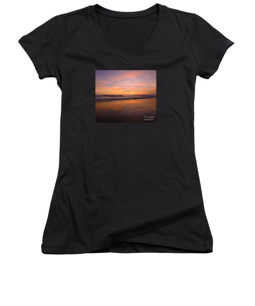 Cardiff Colors Women's V-Neck (Athletic Fit)