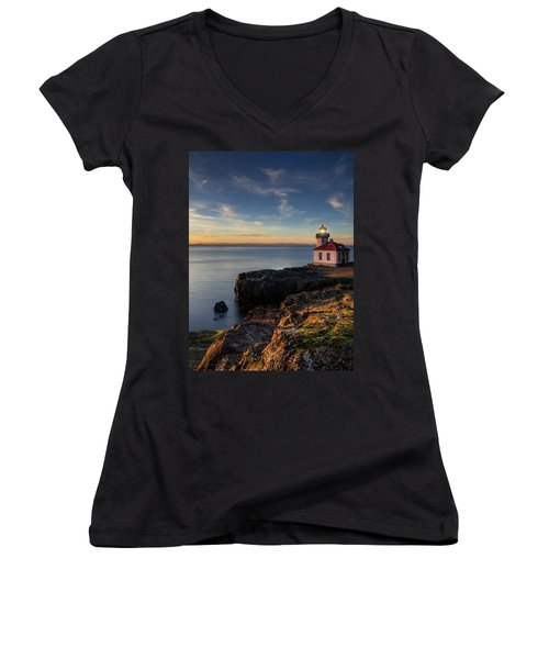 San Juan Island Serenity Women's V-Neck (Athletic Fit)