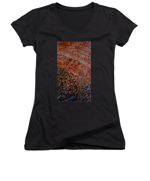 Sand And Sea II Women's V-Neck (Athletic Fit)