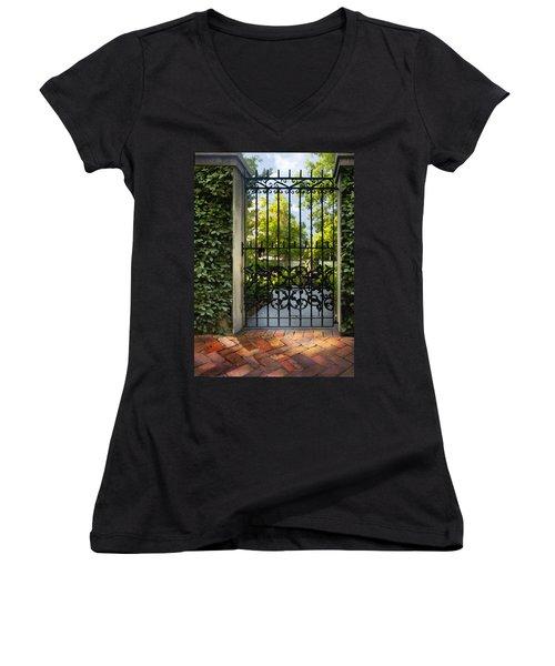 Savannah Gate II Women's V-Neck T-Shirt