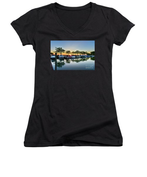 Sawmill Creek Morning Women's V-Neck