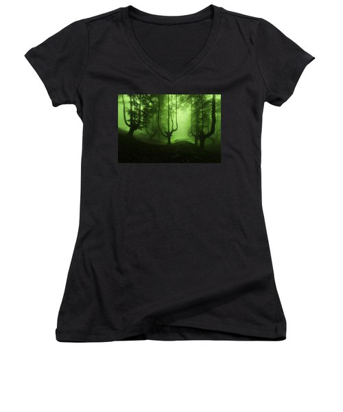 The Funeral Of Trees Women's V-Neck