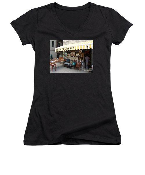 Scavengers Women's V-Neck T-Shirt