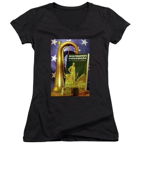Scoutmaster Women's V-Neck T-Shirt