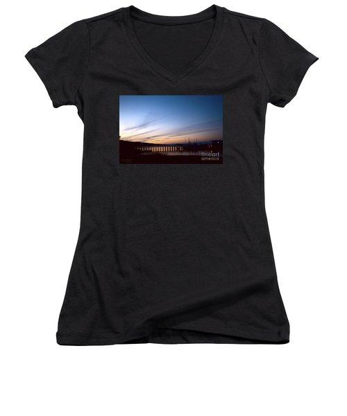 Seagate Pier II Women's V-Neck T-Shirt