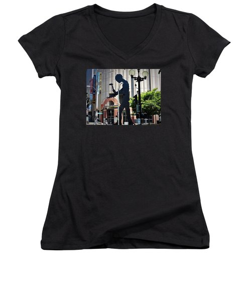 Seattle Art Women's V-Neck