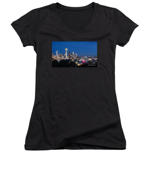 Seattle Twight Women's V-Neck