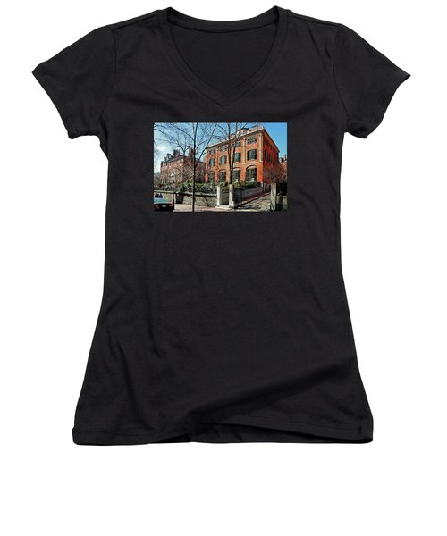 Second Harrison Gray Otis House  Women's V-Neck