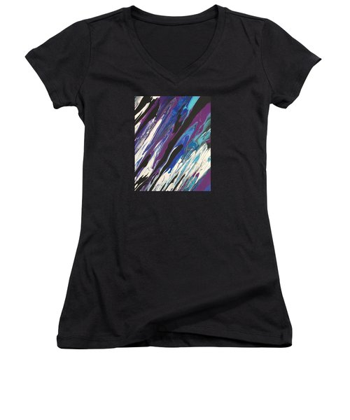 Sweet Emotion Women's V-Neck T-Shirt (Junior Cut)