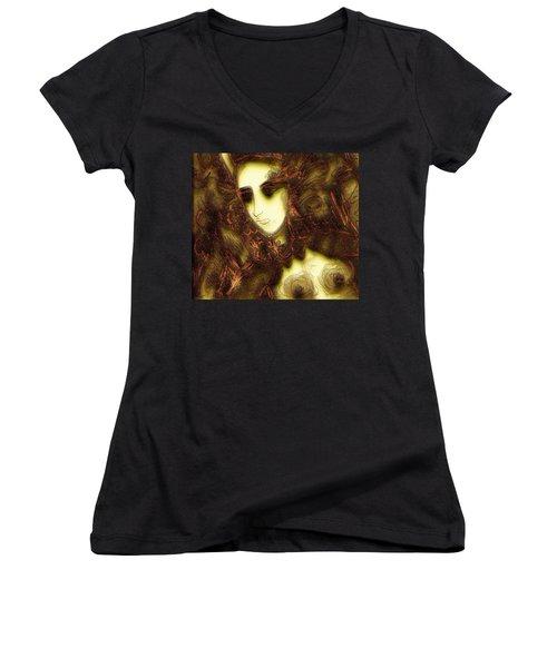Secret Nymph Women's V-Neck T-Shirt