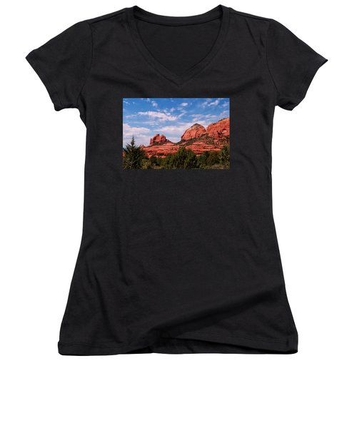 Sedona Az Women's V-Neck T-Shirt
