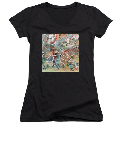 Serendipity Women's V-Neck T-Shirt