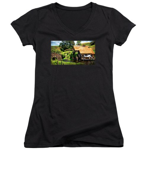 Serenity In The Shire Women's V-Neck