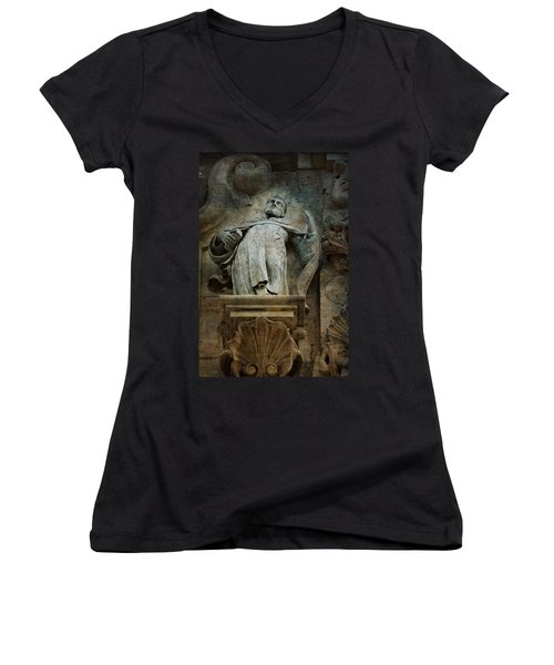 Sermon In Stone Women's V-Neck