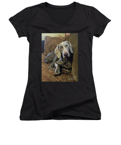 Shadow 4 Women's V-Neck T-Shirt