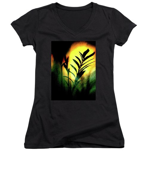Shadow Women's V-Neck
