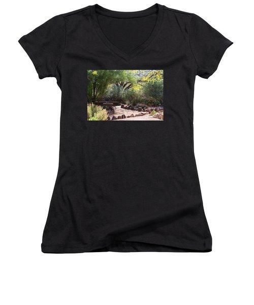 Shady Nook Women's V-Neck T-Shirt