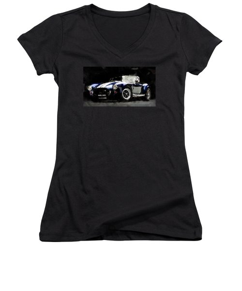 Shelby Cobra - 07 Women's V-Neck