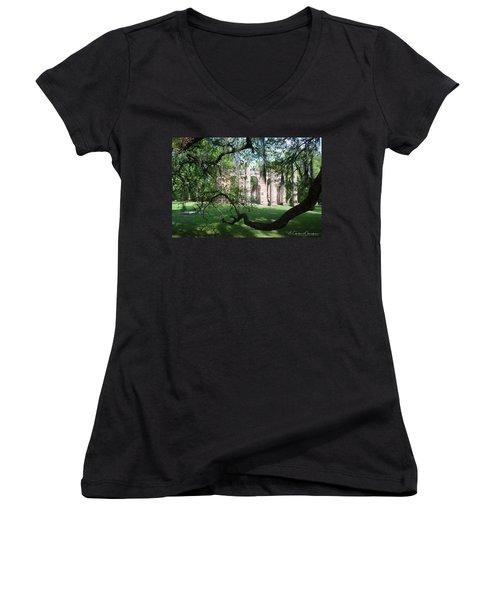 Sheldon Church 2 Women's V-Neck T-Shirt